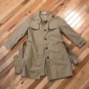 EEUC Gap 3/4 Sleeve Spring Trench Jacket
